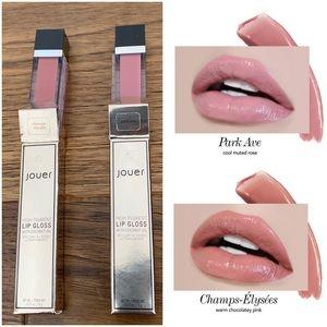 Set of 2 Jouer High Pigment Lip Glosses - NEW